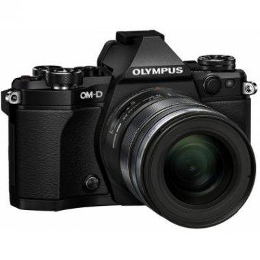 Цифровой фотоаппарат OLYMPUS E-M5 mark II 12-50 Kit black/black (V207042BE000)