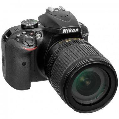 Цифровой фотоаппарат Nikon D3400 AF-S DX 18-105 VR Kit (VBA490K003)
