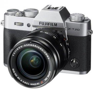 Цифровой фотоаппарат Fujifilm X-T20 XF 18-55mm F2.8-4R Kit Silver (16542684)