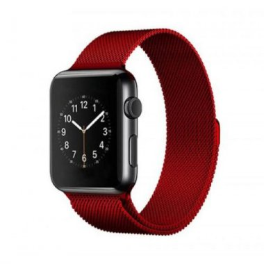 38red 40mm apple band dlya loop milanese remeshok watch