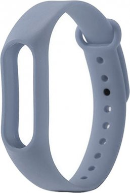 Ремешок UWatch Replacement Silicone Band For Xiaomi Mi 2 Grey