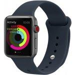 Ремешок UWatch Silicone Strap for Apple Watch 42/44 mm Midnight Blue