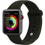 Ремешок UWatch Silicone Strap for Apple Watch 42/44 mm Dark Olive