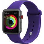 Ремешок UWatch Silicone Strap for Apple Watch 42/44 mm Deep Purple