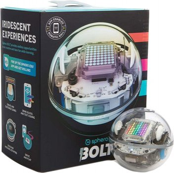 Роботизированный шар Sphero Bolt (K002SKUROW)