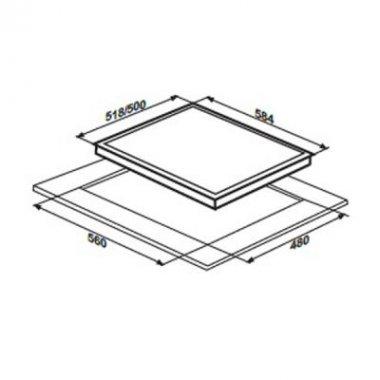 Варочная поверхность LIBERTY PG6041G-CCAV (442)