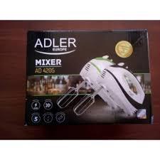 Миксер ADLER AD 4205 black green