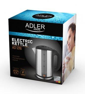Чайник електричний металевий  Adler AD 1216