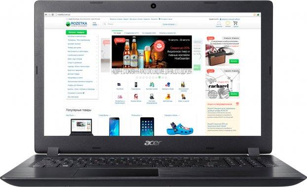 Ноутбук Acer Aspire 3 A315-32-C6P0 NX.GVWEU.017 Obsidian Black