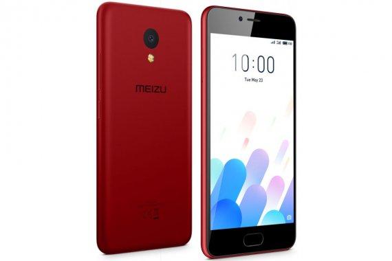 Смартфон Meizu M5c 16GB Red