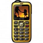 Смартфон Astro B200 RX Black Yellow