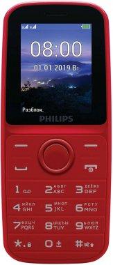 Смартфон Philips Xenium E109 Red