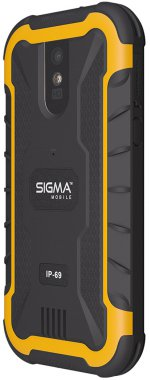 Смартфон Sigma mobile X-treme PQ20 Black/Orange
