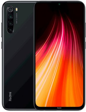 Смартфон Xiaomi Redmi Note 8 4/64 GB Space Black EU_GV