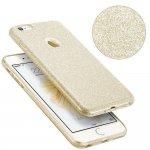 Чехол-накладка TOTO TPU Case Rose series для iPhone 5/5s/SE Gold