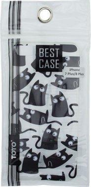 Чехол-накладка TOTO TPU+PC Case Eye IPhone 7 Plus/8 Plus Cat Transparent