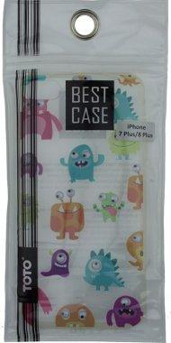 Чехол-накладка TOTO TPU+PC Case Eye IPhone 7 Plus/8 Plus Dragon Transparent