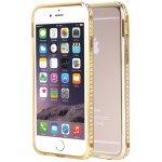Бампер SHENGO SG03 Metal Bumper iPhone 5 Gold