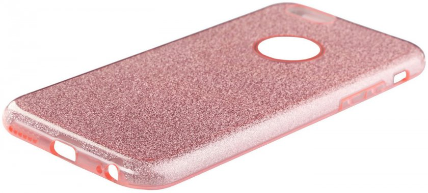Чехол-накладка TOTO TPU Case Rose series iPhone 6/6s Rose gold