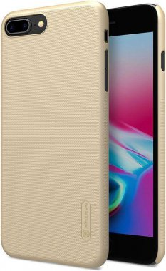 Чехол-накладка Nillkin Super Frosted Shield Apple iPhone 8 Plus Gold