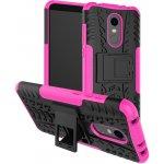 Чехол-накладка TOTO Dazzle kickstand 2 in 1 phone case Xiaomi Redmi 5 Plus Pink