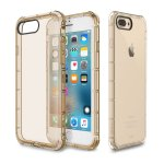 Чехол-накладка Rock TPU Case Fence series iPhone 7 Plus Transparent/Gold