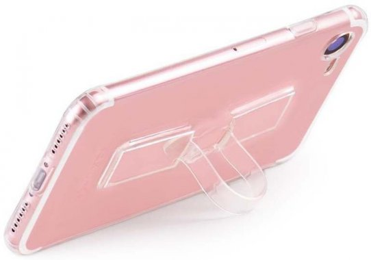 Чехол-накладка HOCO TPU case Light series with Finger Holder iPhone 7 Transparent