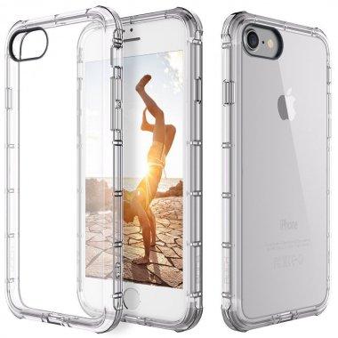 Чехол-накладка Rock TPU Case Fence series iPhone 7 Transparent