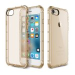 Чехол-накладка Rock TPU Case Fence series iPhone 7 Transparent/Gold