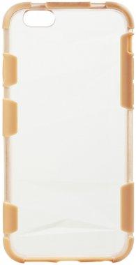 Чехол-накладка TOTO TPU+PC+PU case iPhone 6/6s Gold