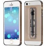 Чехол-накладка HOCO TPU cover Finger holder iPhone 5/5s/SE Grey