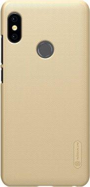 Чехол-накладка Nillkin Super Frosted Shield Xiaomi Redmi Note 5 Gold