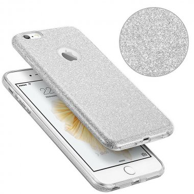 Чехол-накладка TOTO TPU Case Rose series iPhone 7 Silver