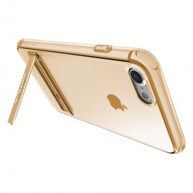 Чехол-накладка Nillkin TPU Crashproof II with Holder iPhone 7 Brown