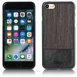 Чехол-накладка Remax Mugay Series for iPhone 7 Black apricot wood