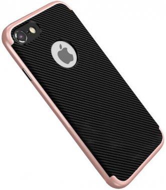 Чехол-накладка DUZHI 2 in1 Hybrid Combo Mobile Phone Case iPhone 7 Rose Gold