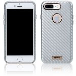 Чехол-накладка Remax Carbon Series Case for iPhone 7 Plus/8 Plus Silver