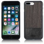Чехол-накладка Remax Mugay Series for iPhone 7 Plus Black apricot wood