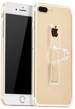 Чехол-накладка HOCO TPU case Light series with Finger Holder iPhone 7 Plus Transparent