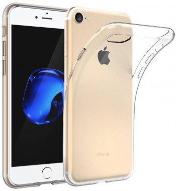 Чехол-накладка TOTO TPU case clear iPhone 7 Transparent