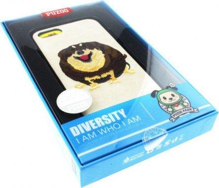 Чехол-накладка PUZOO TPU+TPU with stitchwork craft Ballon Dog iPhone 7/8 White