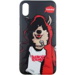 Чехол-накладка PUZOO TPU Glossy Surface IMD Hip Hop iPhone X MC Husky Black