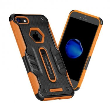 Чехол-накладка Nillkin Defender IV case with Holder iPhone 7 Black/Orange