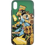 Чехол-накладка PUZOO TPU with UV Printing Punk Phone iPhone X Dark Green