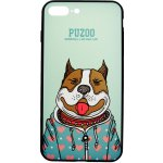 Чехол-накладка PUZOO Artdog Phone  iPhone 7 Plus/8 Plus Green Baby