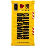 Чехол-накладка Remax California Dreaming Case Apple iPhone X Yellow