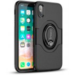 Чехол-накладка Ipaky 360° Free Rotation Ring Holder case iPhone X Black