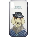 Чехол-накладка PUZOO Artdog Phone  iPhone X White Ravan