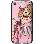 Чехол-накладка PUZOO Yuppie Phone  iPhone 7/8 Annie Pink