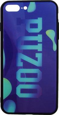Чехол-накладка PUZOO Glass Printing with TPU Visions iPhone 7 Plus /8 Plus Purple